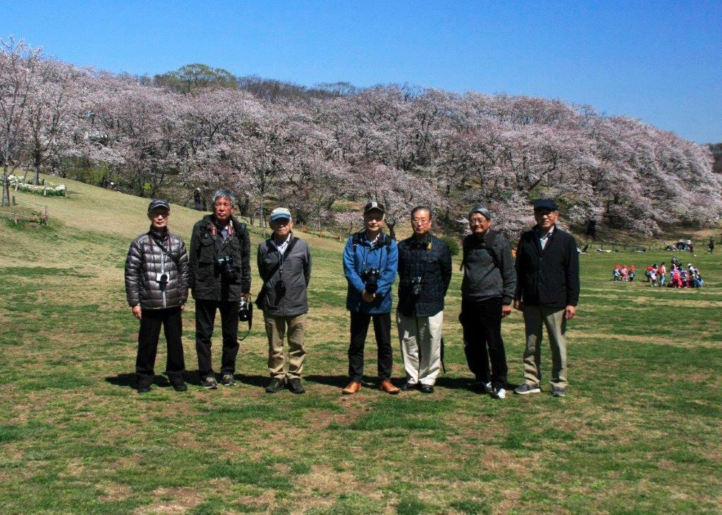 4月根岸森林公園での撮影会